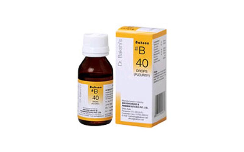 # B40 Drops ( Pleurisy)